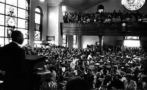 Martin Luther King, Jr. at Dexter Avenue Baptist Church