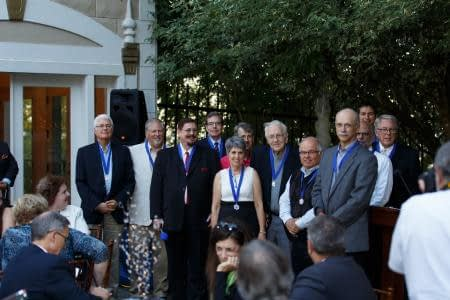 Participants in the Capitol Pastor program honored