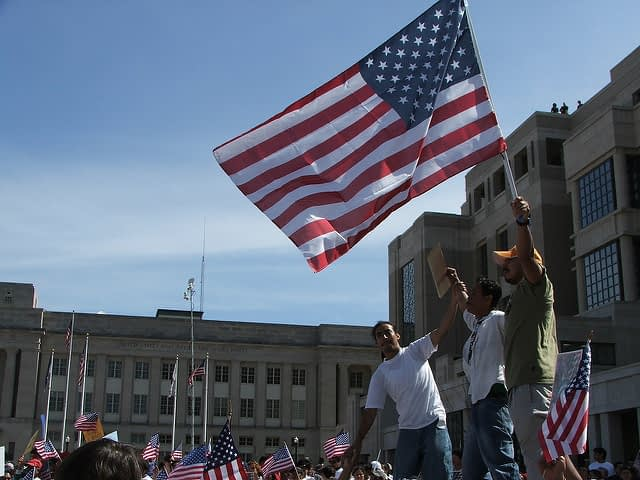 immigration rally - flickr - creative commons