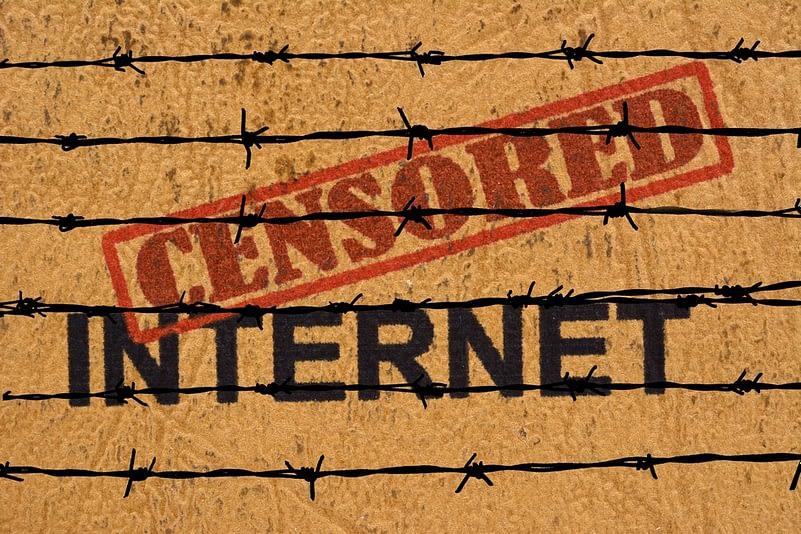 Censored internet
