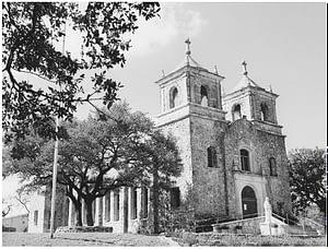 Archbishop Flores' Church in Boerne, Texas