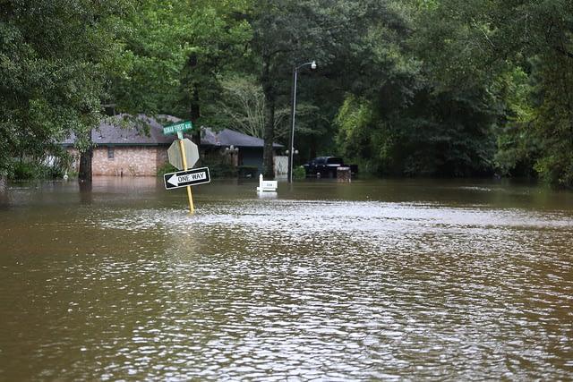 Photo by Jill Carlson - Hurricane Harvey - August 28, 2017 - Story on FEMA funding for church rebuilding