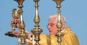Pope Benedict XVI - Photo courtesy Catholic Church (England and Wales)