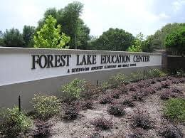 Forest Lake Education Center sign