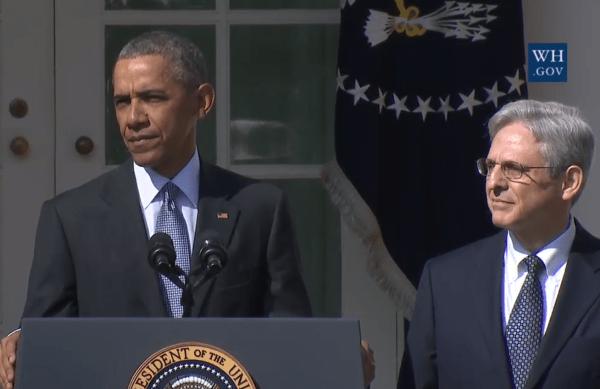 obama-garland  - Whitehouse.gov
