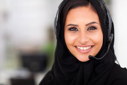 Muslim Woman Wearing Head Scarf (DepositPhotos.com)